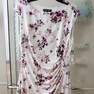 NWT Lauren by Ralph Lauren Dress SZ 14; $80